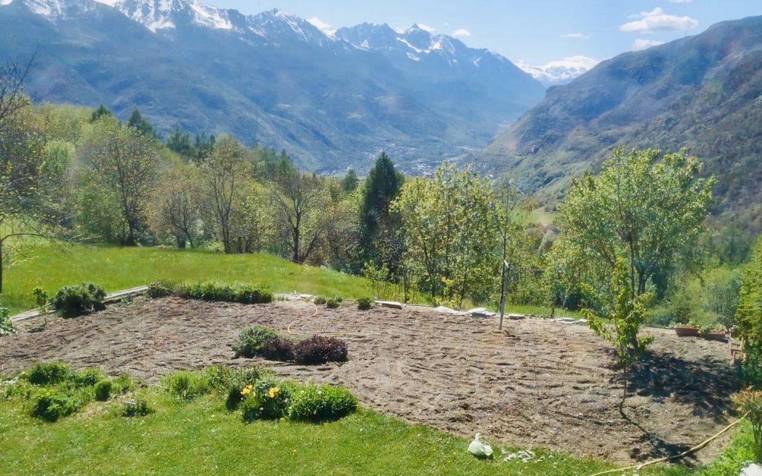 Orto e giardino hanno un effetto antistress, il nostro è BIO e a Km0.